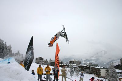 Eric Forney Insane Snowscoot rider at the 2nd snowscoot world championships