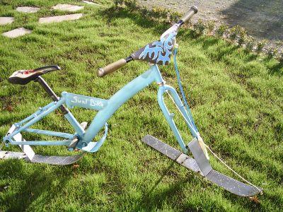 winter x bike fait maison