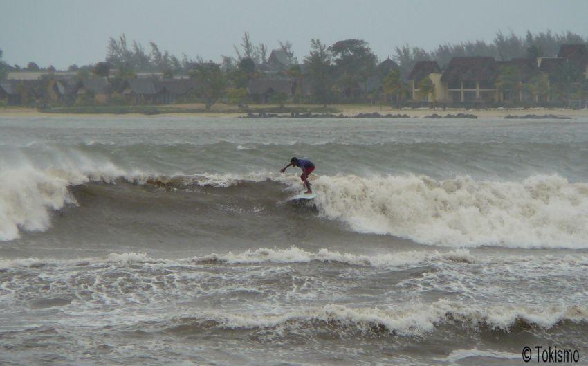 Surfer ile maurice