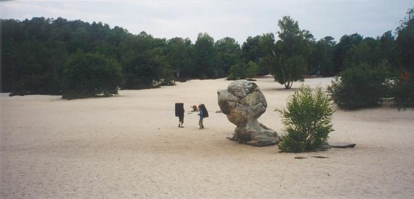 Le Bilboquet (Sables du Cul de Chien - Fontainebleau) - Photo