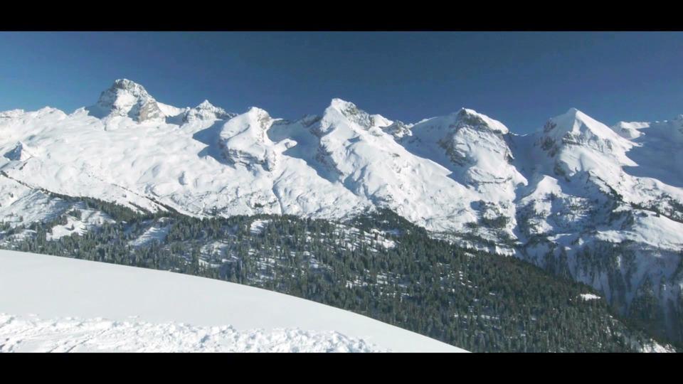 Foyer Nordique Grand Bornand : Vidéo le grand bornand hiver