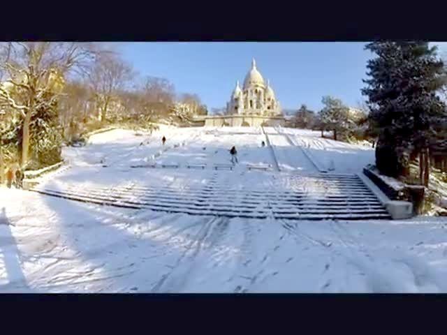 Vid o ski montmartre le 13 mars 2013 for Chambre sociale 13 mars 2013