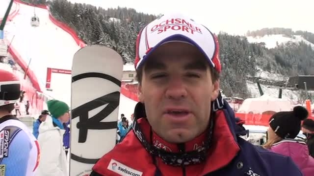 Didier defago describes the slope in val gardena video for Didier defago