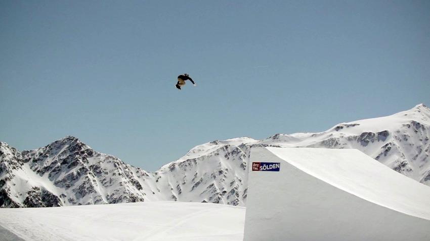 605434142ac Vidéo Sölden  Big Jump Snowboard Teaser - May 2014
