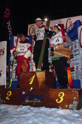 Podium FIS Half Pipe 2004