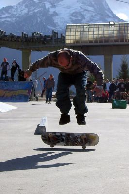 Skate at Les 2 alpes