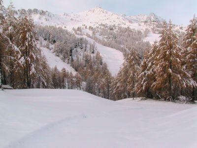 1ere neige à Isola