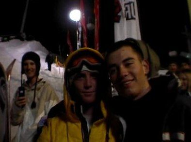 Moi et Candie Thovex