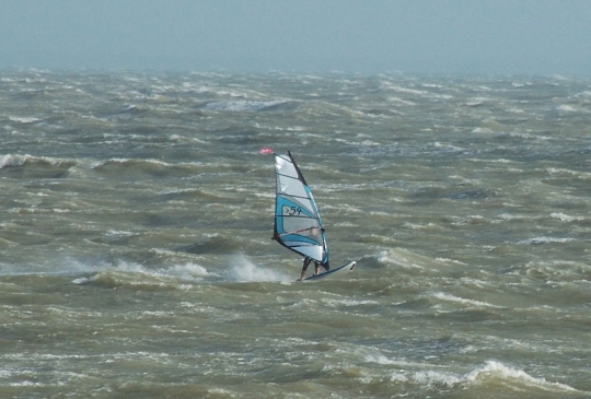 High wind in LaTranche, France
