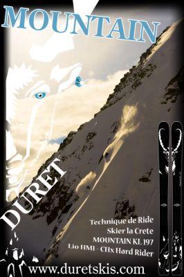 DURET SKIS MOUNTAIN TESTS