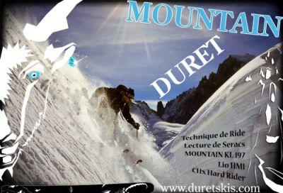 DURET SKIS MOUNTAIN TESTS