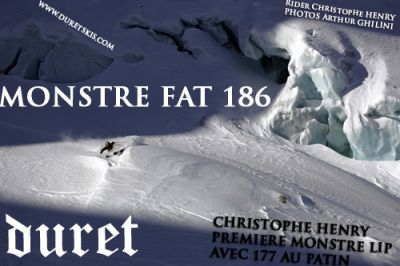 DURET SKIS MONSTRE FAT