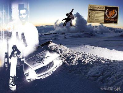 Alex Doumergue Imperivm Snowboards