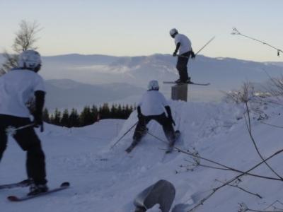 lucas rail du snowpark du sire