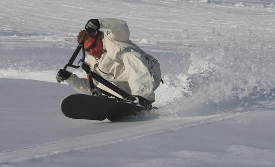 SNOWSCOOT DANS LA SOUPASSE