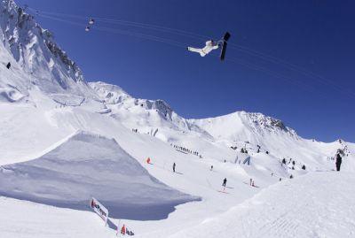 Plus gros Superman Air en Snowscoot de l'histoire