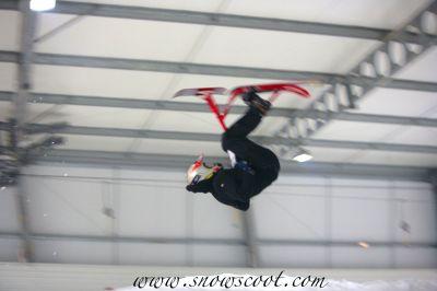 Snowscoot Indoor Front Flip
