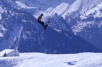 Nicolas Pillin Snowscoot World Champion