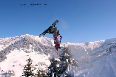 Eric over the Alps