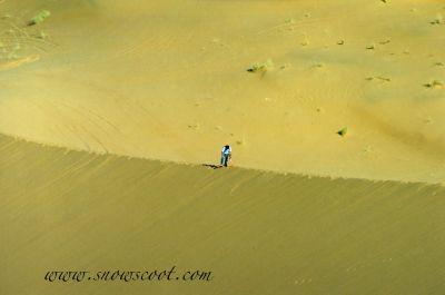 SNOWSCOOT INSANE RIDER FRANK LUTZ LOST IN THE DESERT