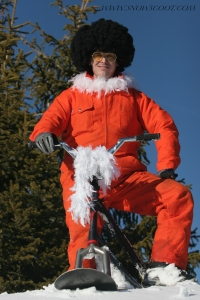 SNOWSCOOT RIDER INSANE BOUBOU WITH HIS LAST WINTER CLOTHES COLLECTION