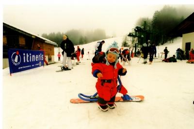 THE KID SNOWSCOOT