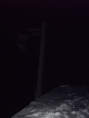 Summit of Etale at 21.15am