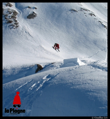 Fly on kik sur la Plagne