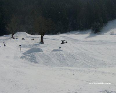 Snowboard 360 Lans en Vercors