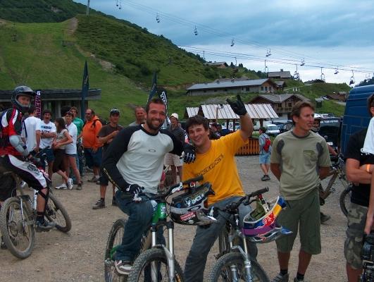 darren berrecloth et timo pritzel au chatel mountain style contest samedi