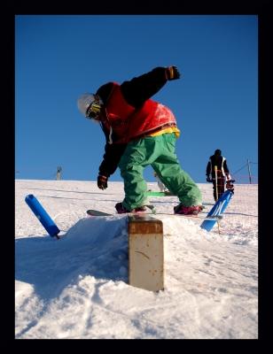 jérome au snowpark du sire