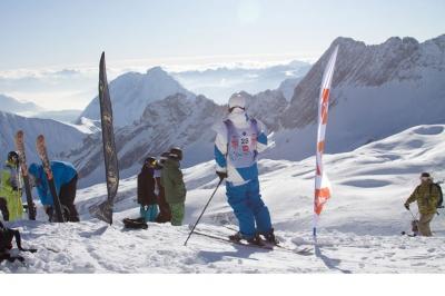The North Face Ski Challenge 2009 Presented by Gore-Tex in GARMISCH