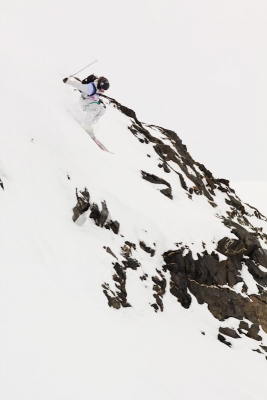 The North Face Ski Challenge 08/09 Presented by Gore-Tex FINAL CONTEST FREERIDE in Val Thorens