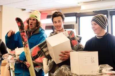 The North Face Ski Challenge 08/09 Presented by Gore-Tex FINAL CONTEST FREESTYLE in Val Thorens