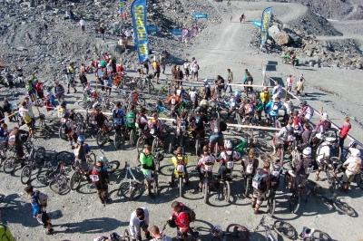 MaxiAvalanche 2009 à Val Thorens - Départ de la première manche