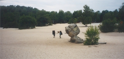 Le Bilboquet (Sables du Cul de Chien - Fontainebleau)