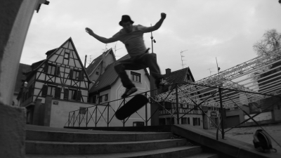 kickflip over 7 stair