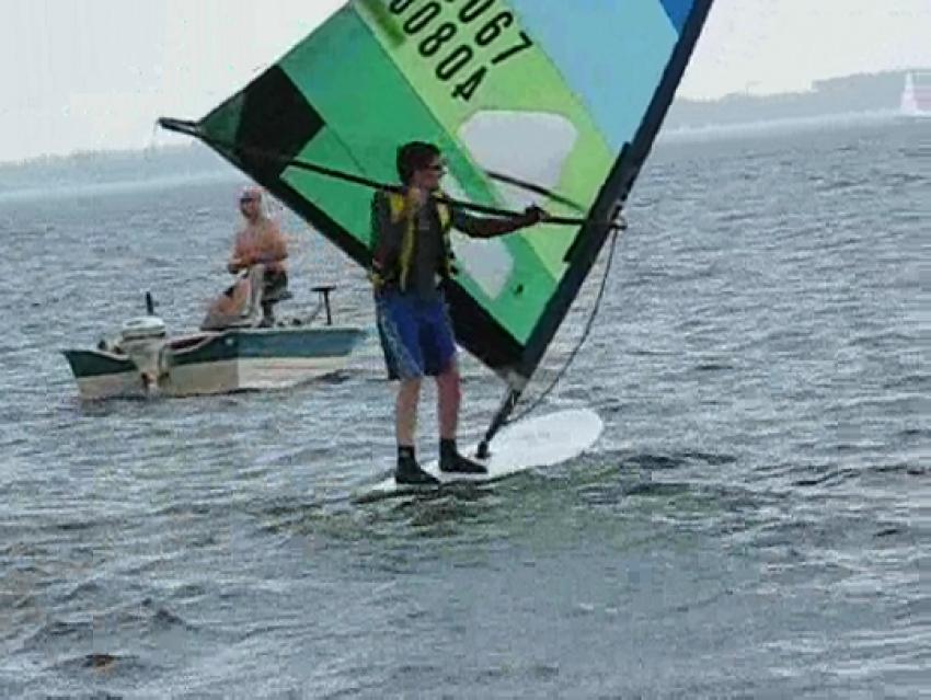 Video Freestyle Windsurfing Empannage Quand Face Au Vent